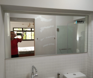 Aluminium Frame Mirror for Bathroom